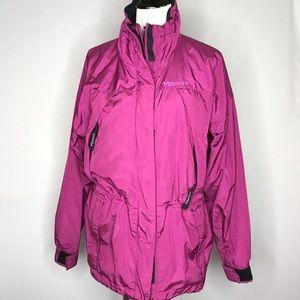 Marmot Membrain Purple Warm Windbreaker Jacket
